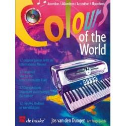 Colour of the world accordéon avec CD play-along