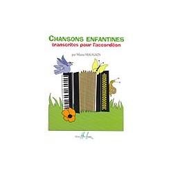 Chansons enfantines accordéon Manu Maugain