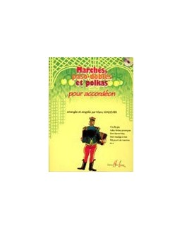Marches, paso-dobles et polkas accordéon Manu Maugain avec CD