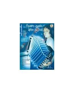 Modern music, latino et jazz accordéon Manu Maugain avec CD