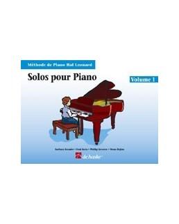 Solos pour piano hal leonard volume 1