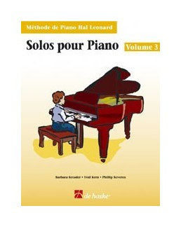 Solos pour piano hal leonard volume 3