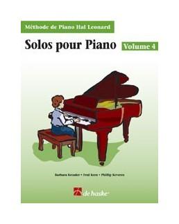 Solos pour piano hal leonard volume 4