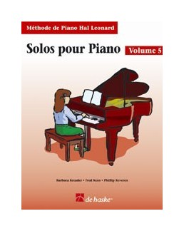 Solos pour piano hal leonard volume 5