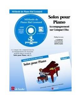 CD accompagnement solos hal leonard volume 1