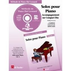 CD accompagnement solos hal leonard volume 2