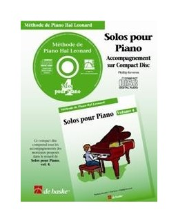 CD accompagnement solos hal leonard volume 4