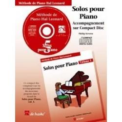 CD accompagnement solos hal leonard volume 5