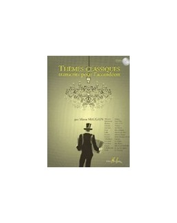 Thèmes classiques transcrits pour accordéon Manu Maugain avec CD