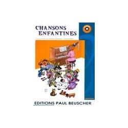 Chansons enfantines avec CD
