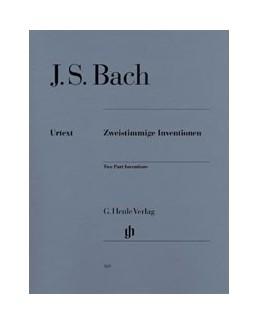 Inventions à deux voix Bach