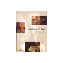 Inventions à 2 et 3 voix Bach