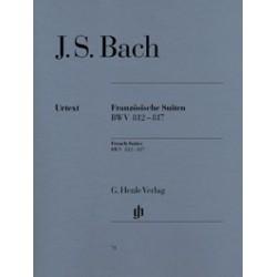 Suites françaises Bach BWV 812-817