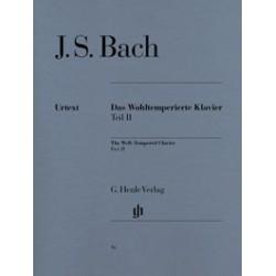 Le Clavier bien tempéré II BWV 870-893