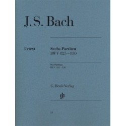 Six partitas BWV 825-830 Bach