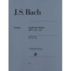 Suites anglaises  BWV 806-811 Bach