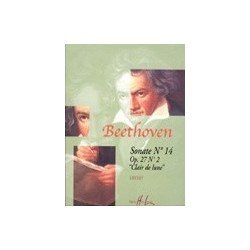 Sonate n°14 Clair de Lune Op.27 n°2 Beethoven