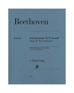 Sonate pour piano n° 17 en ré mineur op. 31 n° 2 (La Tempête) Beethoven