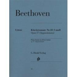 Sonate pour piano n° 23 en fa mineur op. 57 (Appassionata) BEETHOVEN