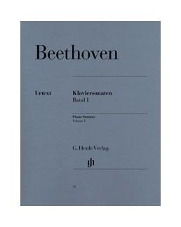 Sonates pour piano, volume I Beethoven