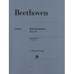 Sonates pour piano, volume II Beethoven