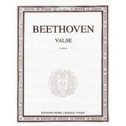 Valse Le Désir en la bémol maj Beethoven