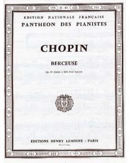 Berceuse Chopin