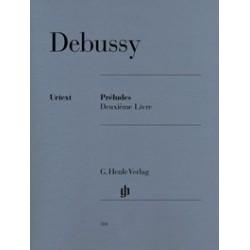 Préludes deuxième livre Debussy