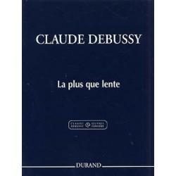 La plus que lente Debussy