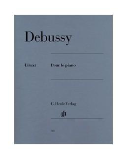 Pour le piano Debussy