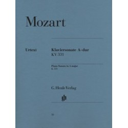 Sonate pour piano en La majeur K. 331 (300i) avec Marche turque (Alla Turca) Mozart