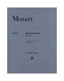 Sonates pour piano volume 1 Mozart