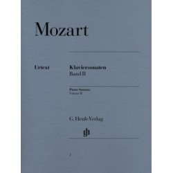 Sonates pour piano volume 2 Mozart