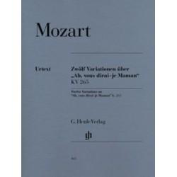 12 Variations sur Ah vous dirai-je Maman K. 265 Mozart