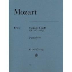 Fantaisie en ré mineur K. 397 Mozart