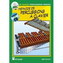 Méthode de percussions à clavier Bomhof vol 1 avec CD