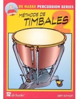 Méthode de timbales Bomhoff vol 2