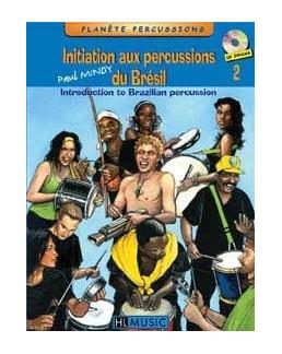 Initiation aux percussions du brésil Paul Mindy vol 2 avec CD