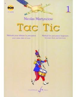Tac Tic Nicolas Martynciow vol 1 avec CD