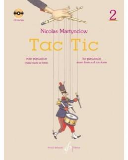 Tac Tic Nicolas Martynciow vol 2 avec CD