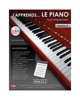 j'apprends le piano tout simplement  Astié vol 2