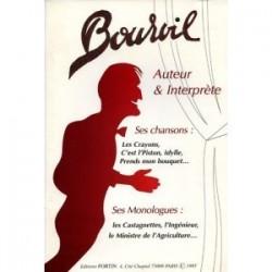 """Bourvil auteur et interprète """"ses chansons, ses monologues"""""""