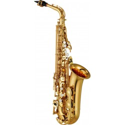 Saxophone alto YAMAHA YAS280 modèle étude, finition : verni