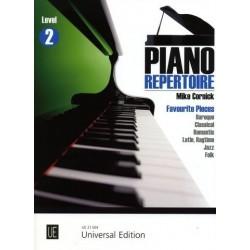 Piano répertoire Mike Cornick level 2