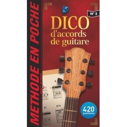MUSIC EN POCHE Dictionnaire accords guitare