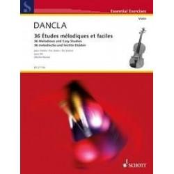 Dancla 36 études mélodiques op 84 violon