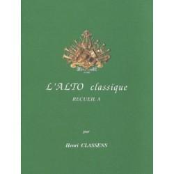 Classens l'alto classique recueil A