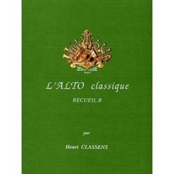 Classens l'alto classique recueil B