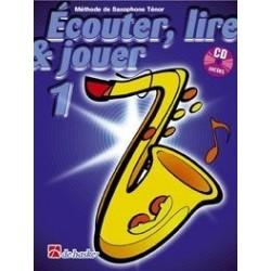 Ecouter, lire & jouer saxophone tenor vol 1 avec CD