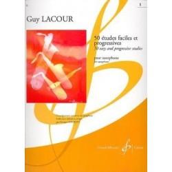 50 études Guy Lacour saxophone vol 1